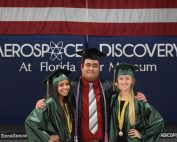 Aerospace Center for Excellence grads