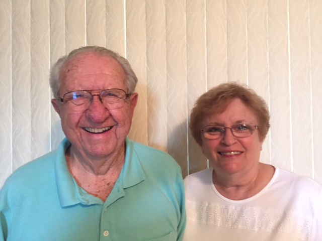 SUN 'n FUN volunteers Frank and Bonnie Klatt