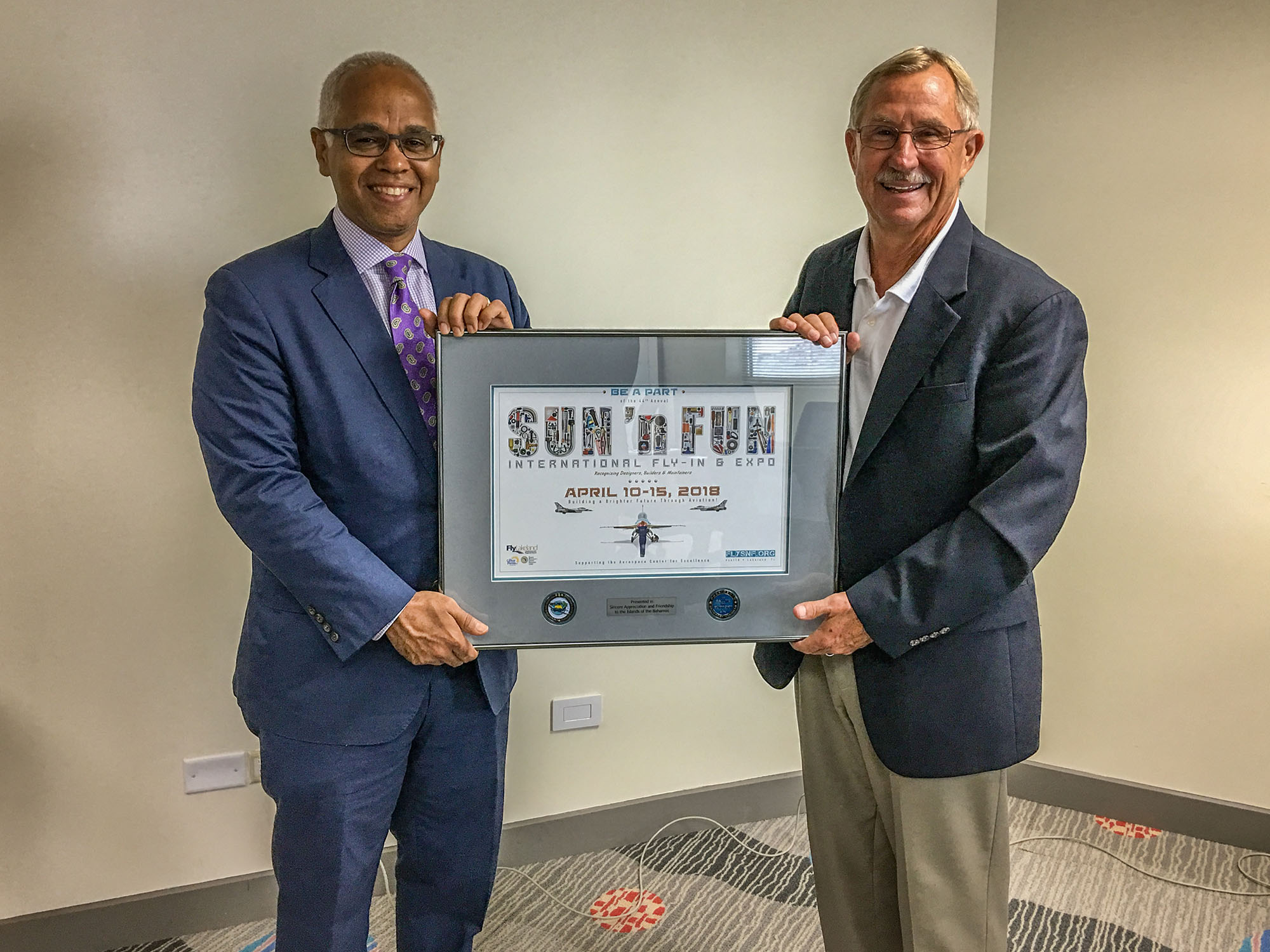 SUN 'n FUN Fly-In Inc. Announces Tourism Partnership Agreement with The Bahamas
