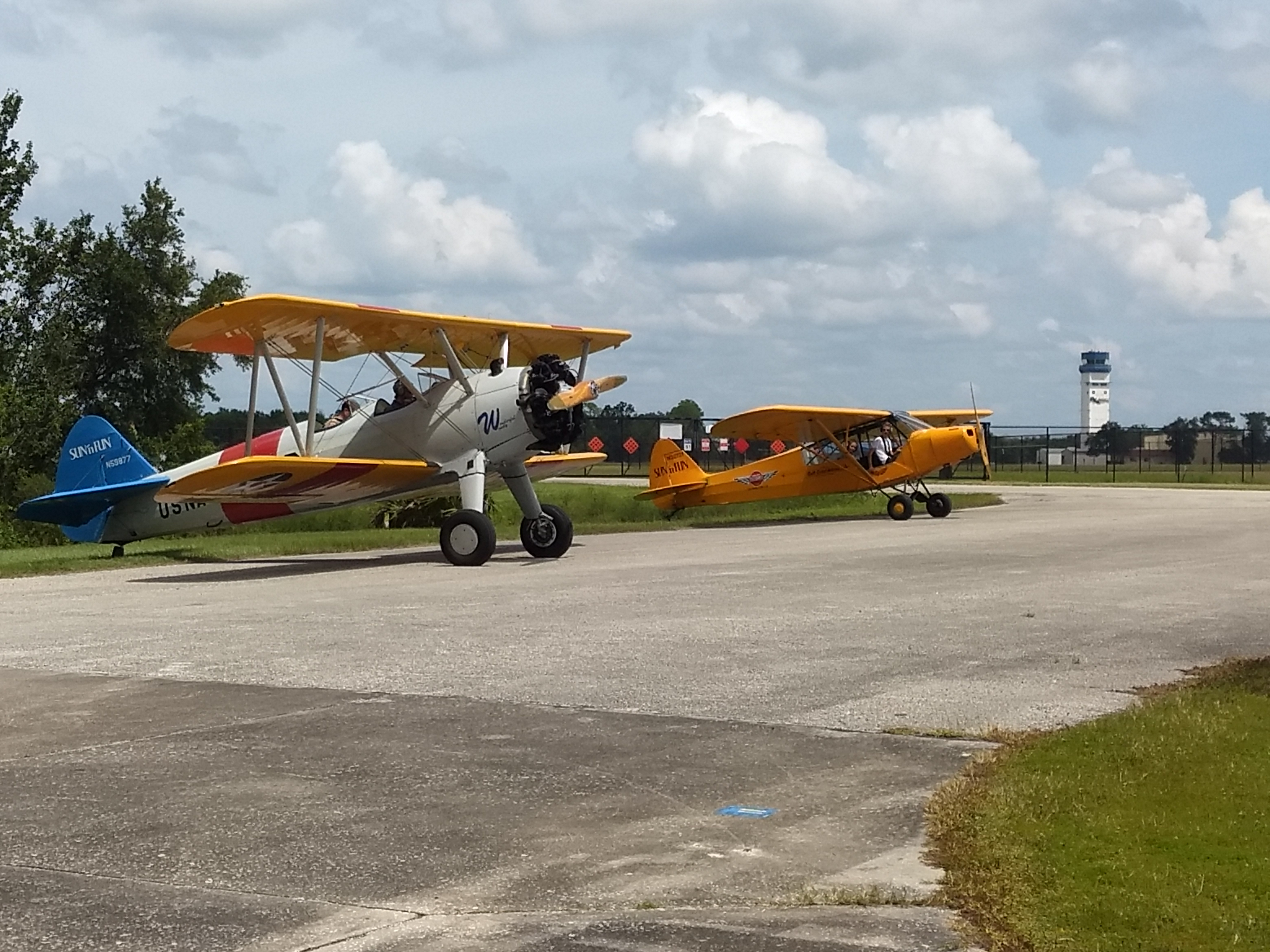 El Lakeland Aero Club y SUN 'n FUN Fly-In despegue para el Triple Tree Fly-In