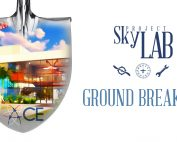 Graphic of Project SkyLab groundbreaking
